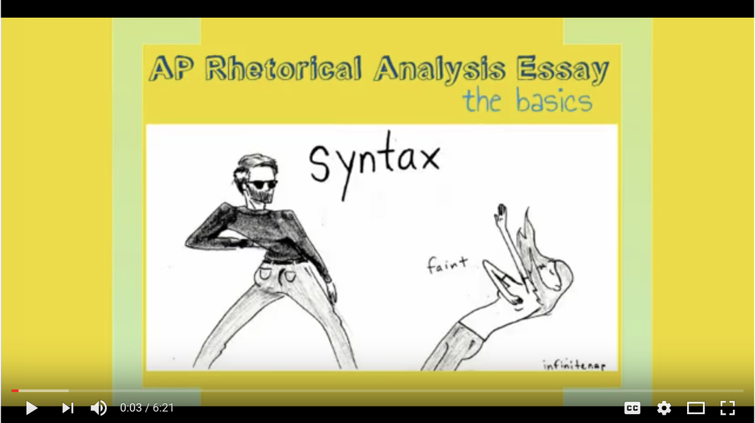 Visual rhetorical analysis sample essay